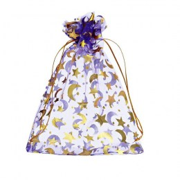 Purple Moon Bag 13x18cm