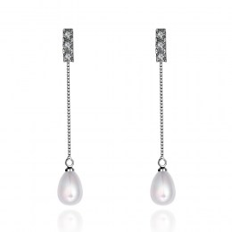 Bailee Faux Pearl Earrings 1