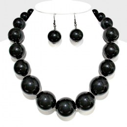 Agnese Faux Pearl Necklace Set