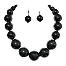 Agnese Faux Pearl Necklace Set.
