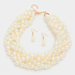 Lesley Pearl Necklace Set II