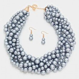 Heidi Pearl Necklace Set II