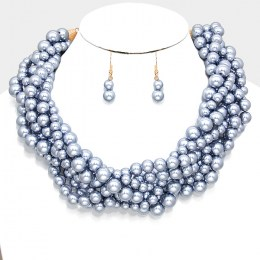 Heidi Pearl Necklace Set III