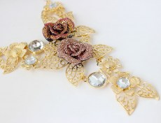 Oriana Bib Necklace III