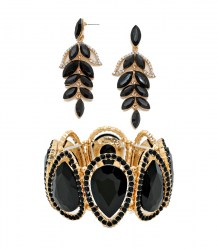 Louisa Crystal Earrings