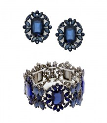 Juliet Crystal Post Earrings