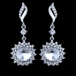 Leondra Rhinestone Earrings