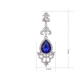 Abrielle Rhinestone Earrings III