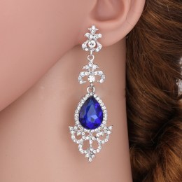 Abrielle Rhinestone Earrings II