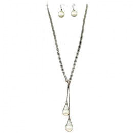 Nicola Y Chain Necklace Set