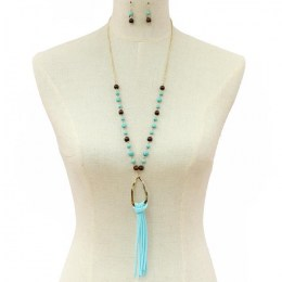 Filicia Y Chain Necklace Set.1