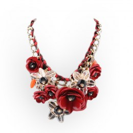 Leda Bib Necklace
