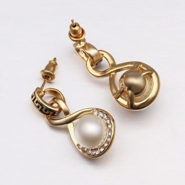 Jamiya Faux Pearl Earrings 5