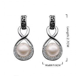 Lexie Faux Pearl Earrings 6