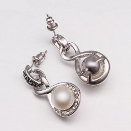 Lexie Faux Pearl Earrings 5