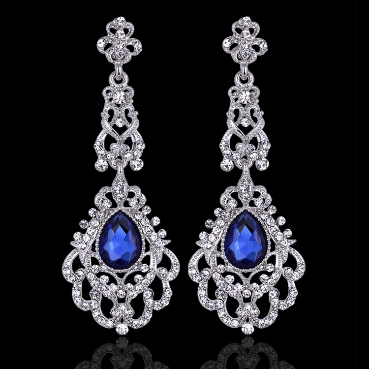 Joceline Rhinestone Earrings