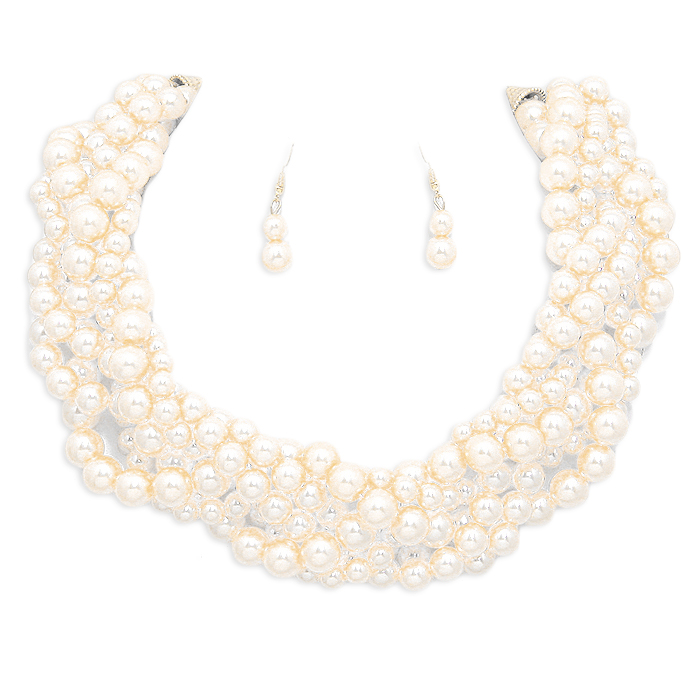 Lesley Pearl Necklace Set