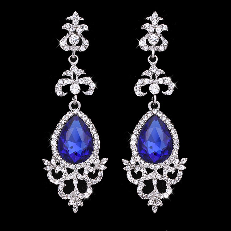 Abrielle Rhinestone Earrings