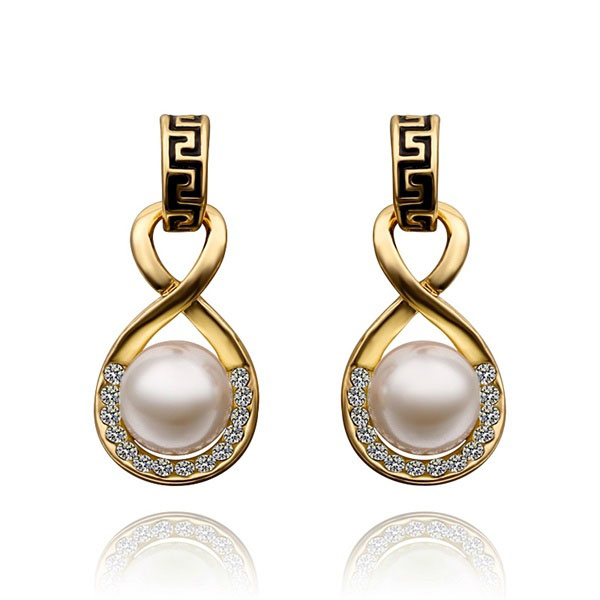 Jamiya Faux Pearl Earrings 1